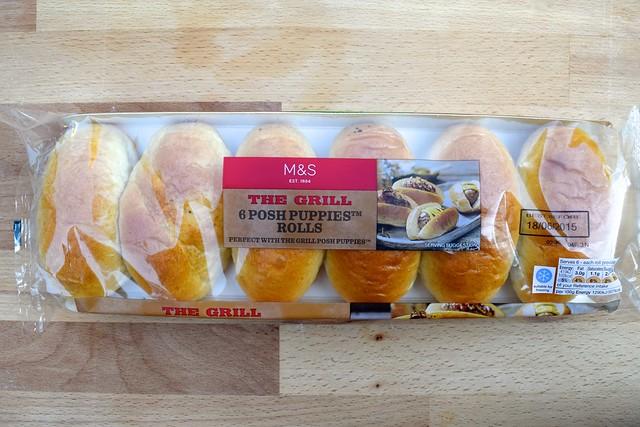 M&S Brioche Hot Dog Rolls  | www.rachelphipps.com @rachelphipps