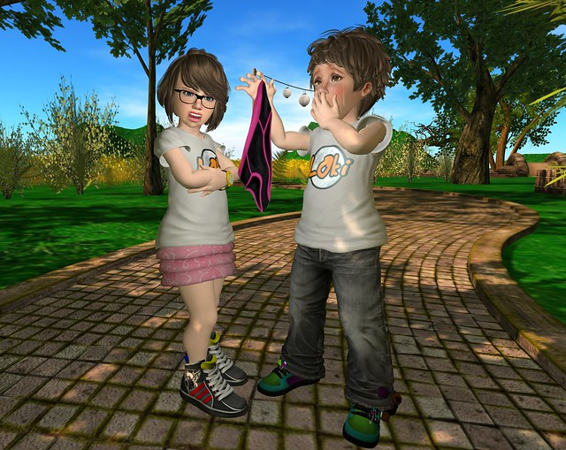 Free Mesh Kids Avatar