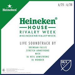 6/26 - The #heinekenrivalry week