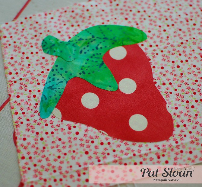 Pat Sloan Fusible Applique tutorial 11