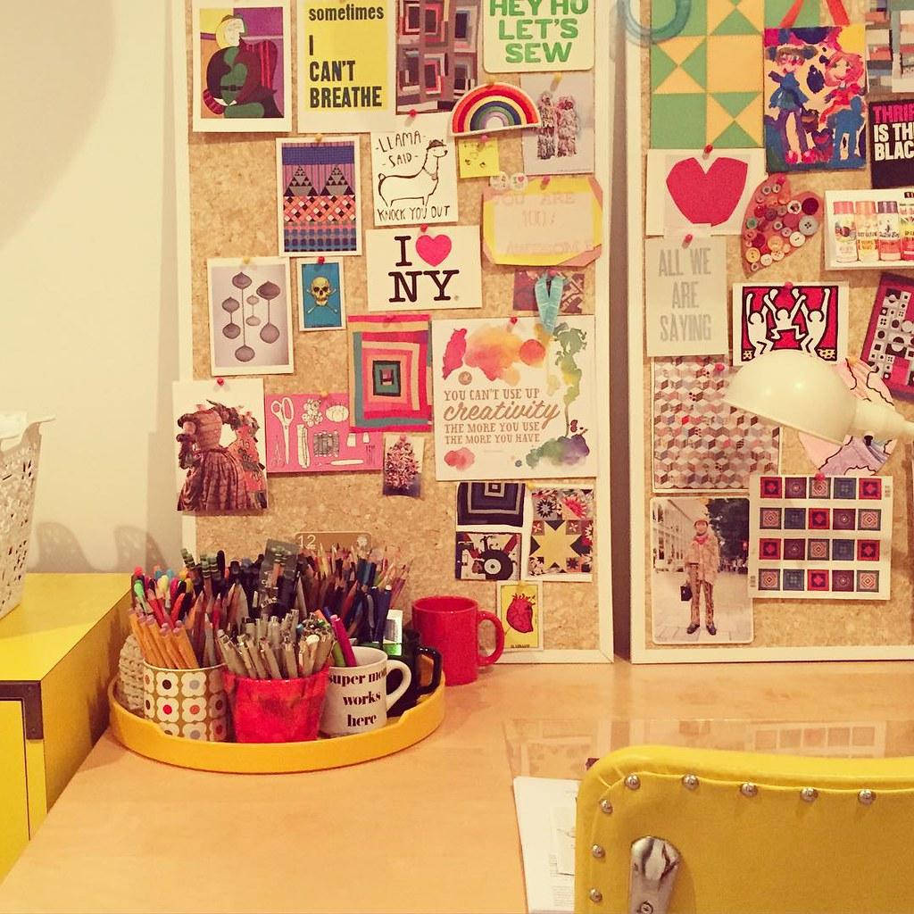 the crazy drawing room/guest room #inprogress #studio #art… | Flickr