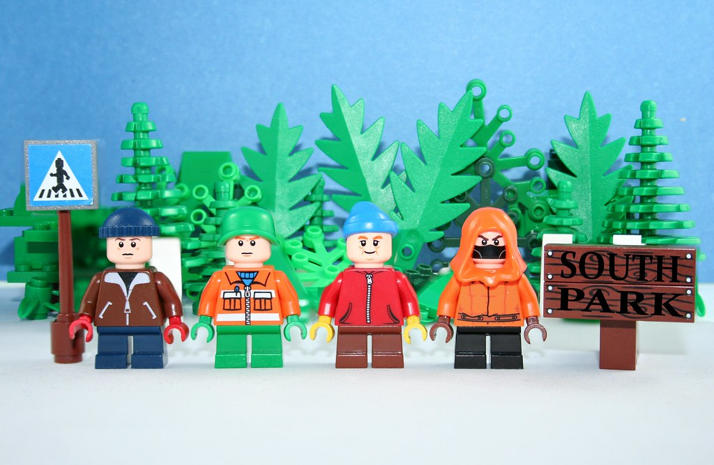 Lego South Park | Like this picture so much you want a shirt… | Flickr