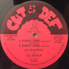 D.J. JEALOUS J. & D.J. JOCK D.:D.J. WARS(LABEL SIDE-B)
