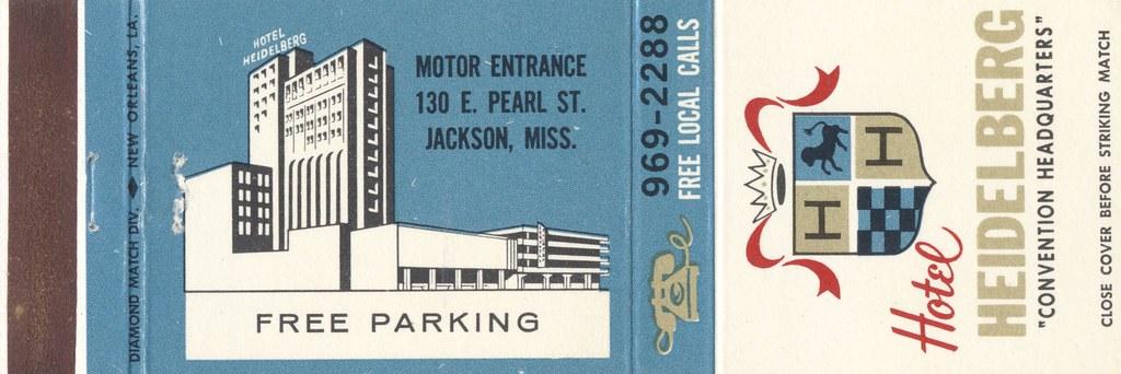 Hotel Heidelberg - Jackson, Mississippi