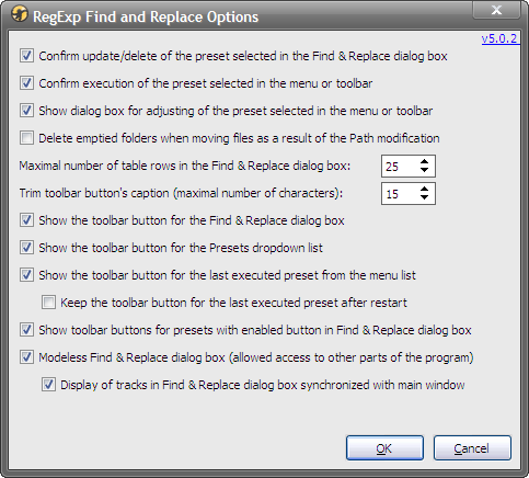 RegExpReplace-5.0.2 - Options