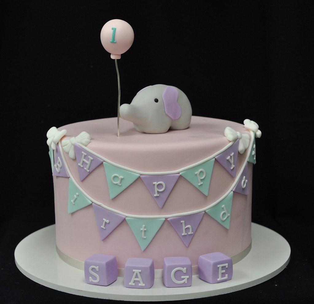 Elephant Birthday Cake Jenny Wenny Flickr