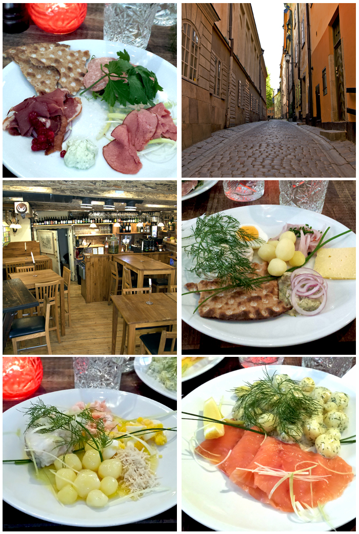 Stockholm, Gamla Stan Food
