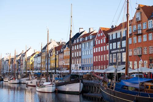 Morning at Nyhavn, Copenhagen