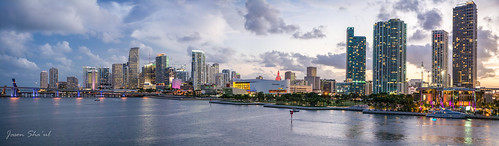 Miami Skyline | by Jason Sha'ul