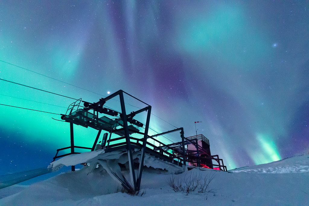 Colours are emotions! Aurora sky station, Abisko national ...