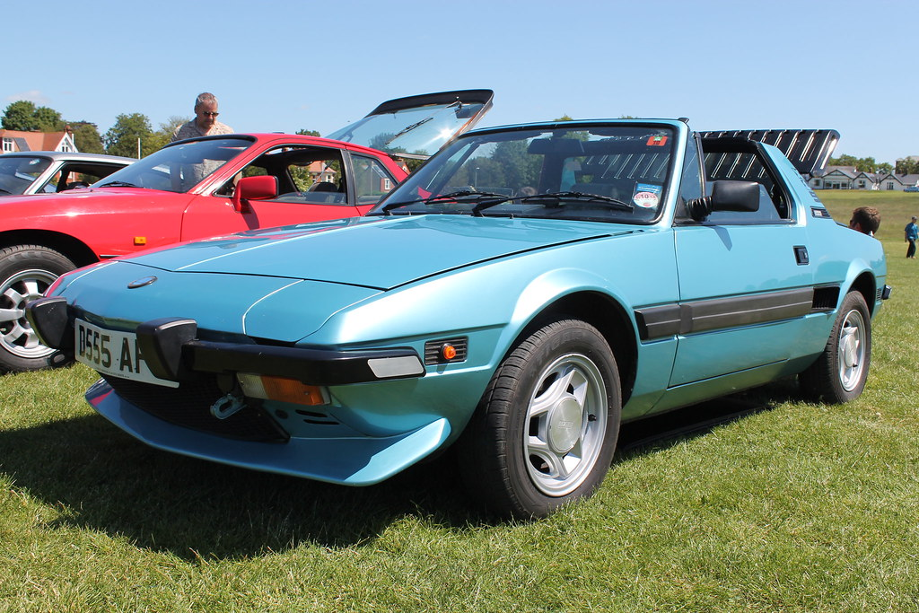 1987 Fiat X19. Royston Classic And Modified Car