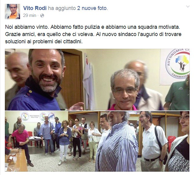 vito rodi post ballottaggio