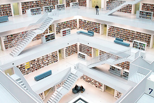 Stuttgart Public Library, Germany | by o palsson