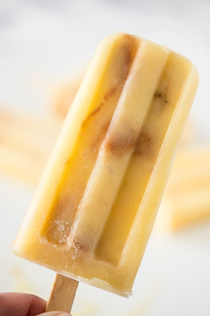 Cool off this summer with Banana Pudding Ice Pops #KRAFTrecipes