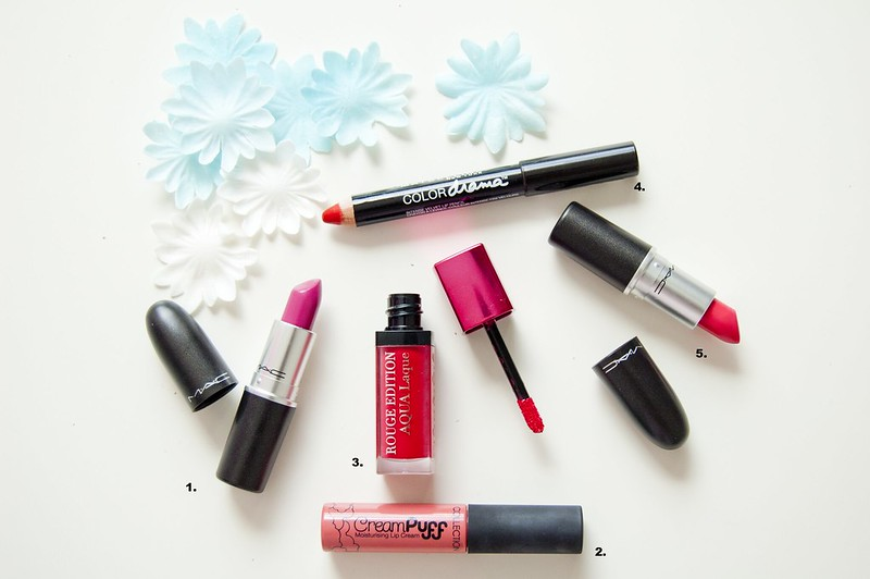 My Favourite Summer Lipsticks