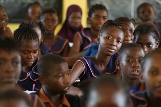 Students at primary school | by World Bank Photo Collection