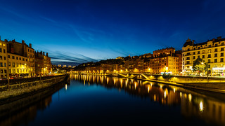 La Saône @blue hour | by Meg4mi