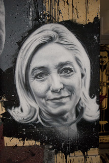 Marine Le Pen, painted portrait _DDC0057 | by Abode of Chaos