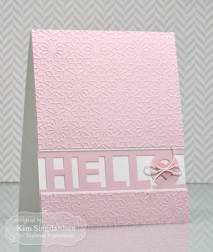 TE Kaleidoscope Embossing