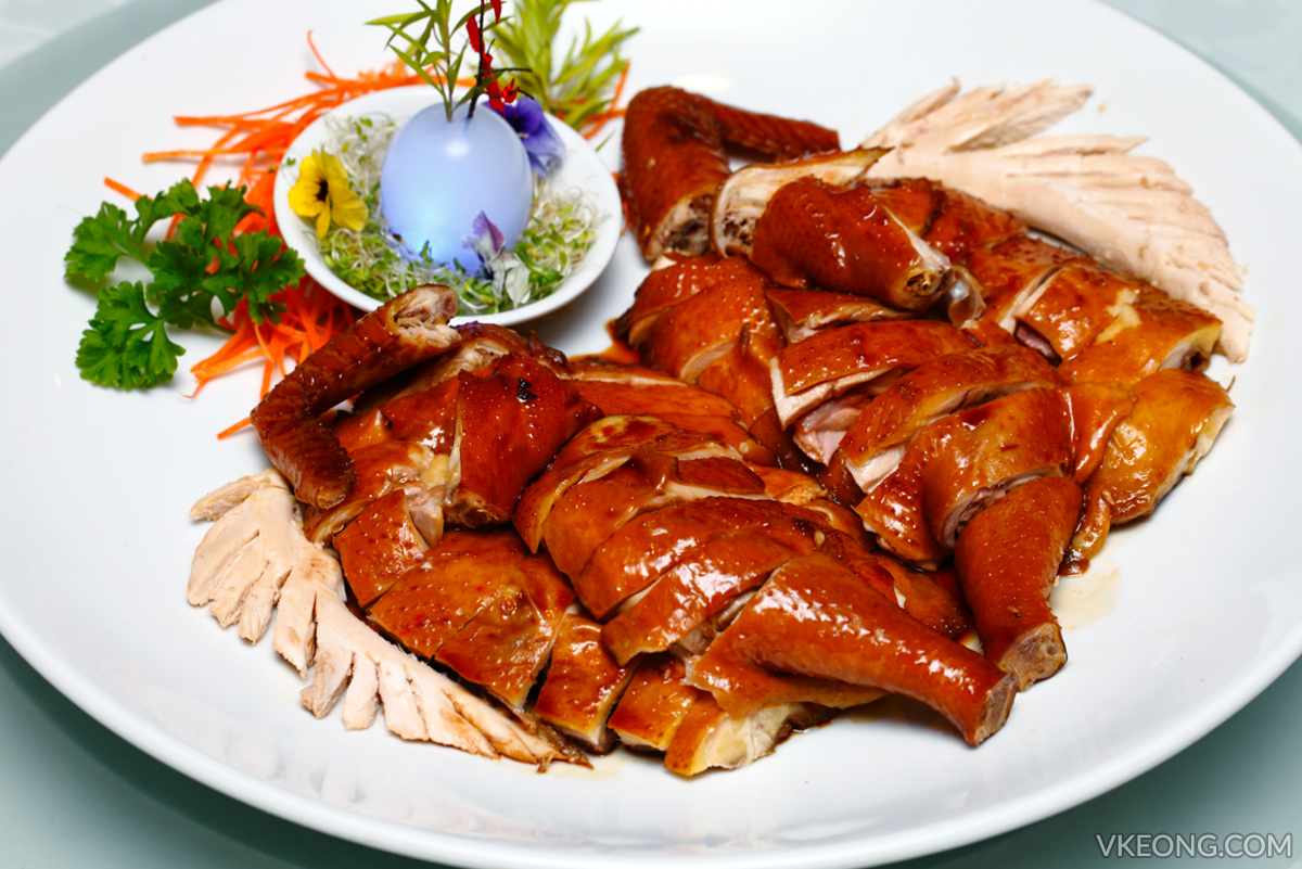 Genting Palace Marinated Royal Mountain Chicken in Fine Soy Sauce