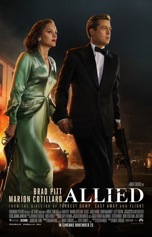 Allied - Poster 2