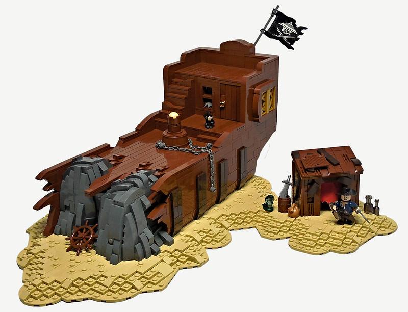 LEGO® MOC by Vitreolum: Marooned