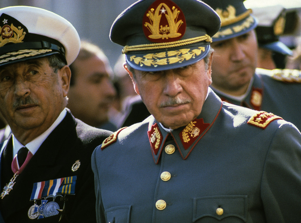 Pinochet and Other Junta Members, Valparaiso, 1988 | by Marcelo  Montecino