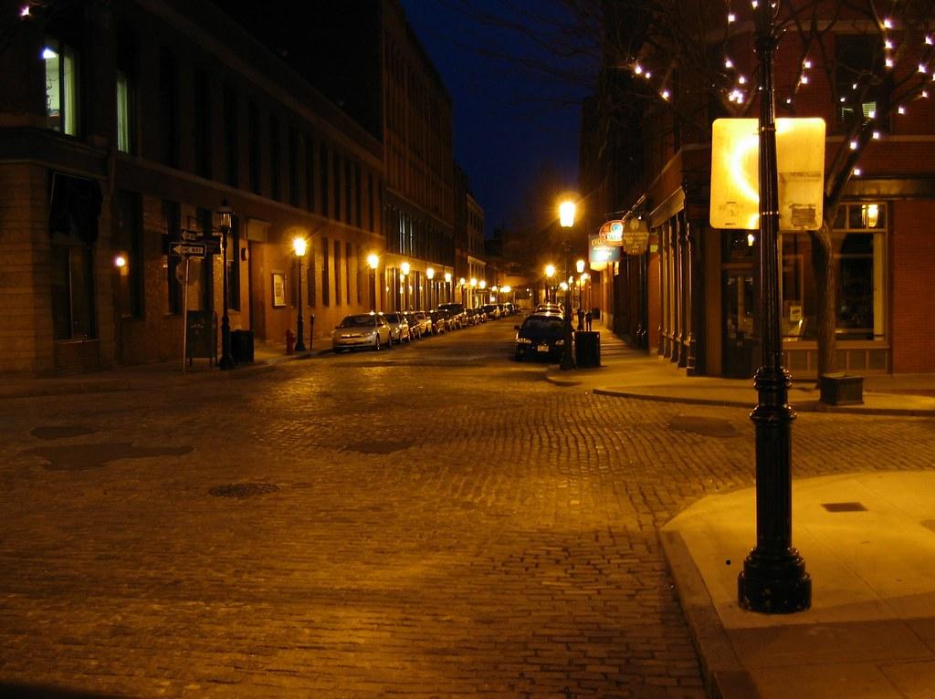 ... Gaslight District   Lowell, Massachusetts | By OpalMirror