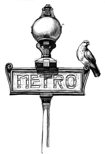 Paris Metro Sign | by artbeco