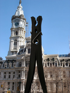 """Clothespin,"" Claes Oldenburg, 1976 