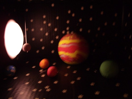 solar system diorama part 5 the sun is a mass of