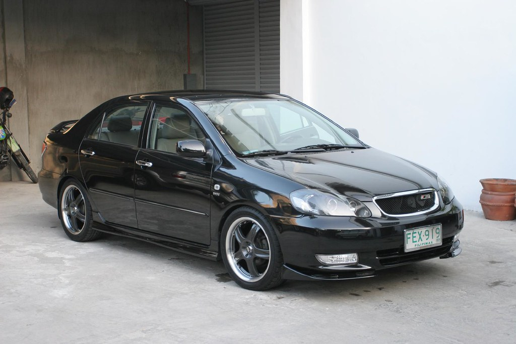 Toyota Altis My Father Gave Me This On My Birthday Last