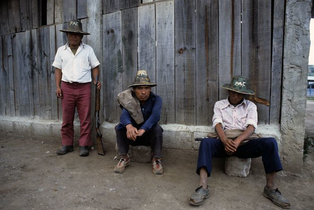 Peasants recruited by Govt. to kill other Peasants, Guatemala, 85 | by Marcelo  Montecino
