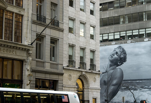 Architecture and Advertising, Midtown NYC | by tangentialism