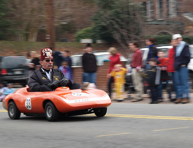 Shriner Car: What More Does A Parade Need Than A Shriner