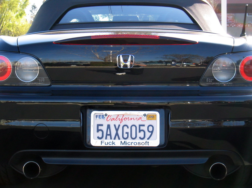cool license plate frame by jochenwolters