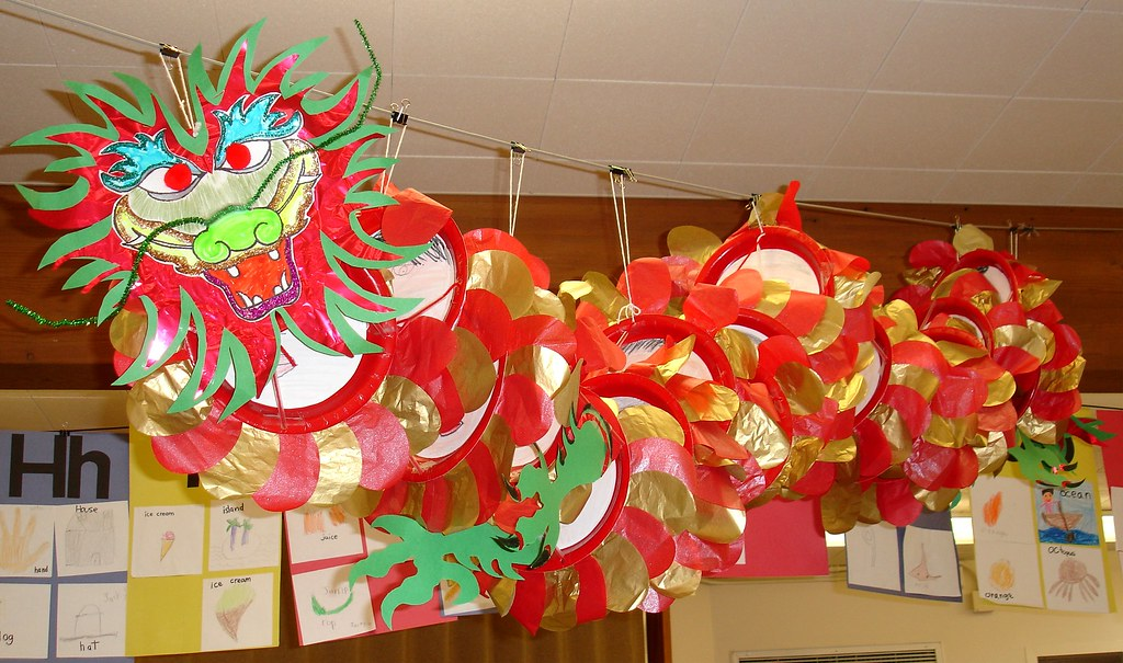 Chinese New Year Classroom Decoration Ideas : Classroom dragon ed in our multicultural