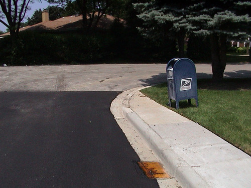 residential street with mailbox | by elliott of lincolnwood