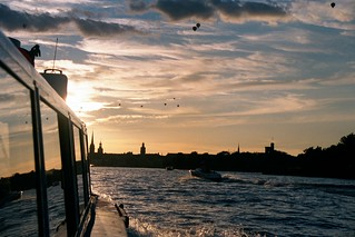 Sunset in Stockholm | by bigbluemeanie
