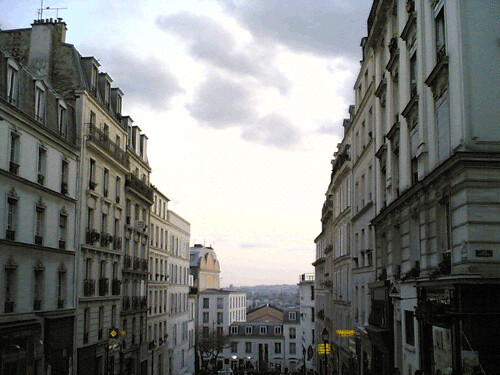 Late afternoon in Montmartre | by clotilde
