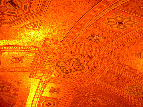ceiling of the royal ontario museum | by poopee shmoopee