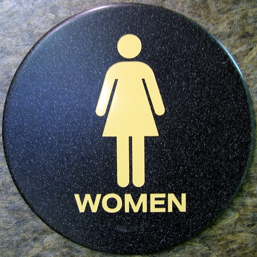 DILO - women bathroom sign | by DogFromSPACE