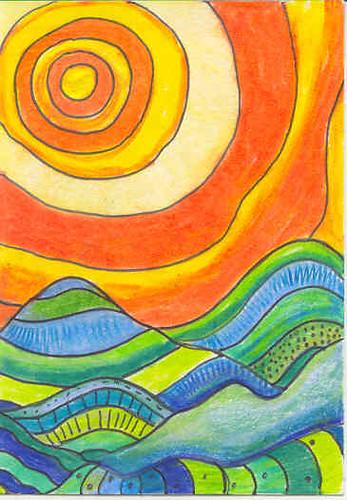Pan Pastel Art Designs
