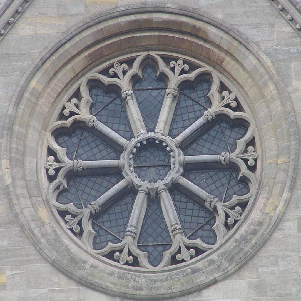 round window | Roman Catholic Cathedral of Saint John the Ba ...
