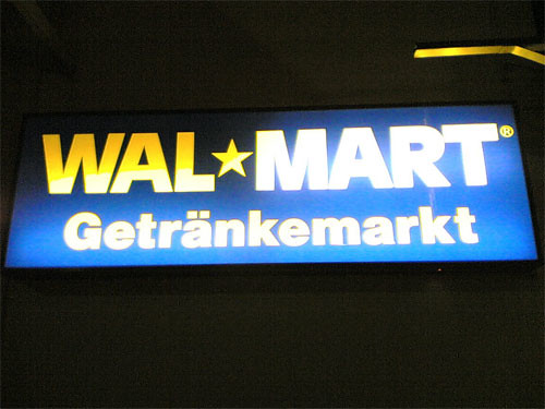 German Walmart | In Germany they have a separate warehouse ...