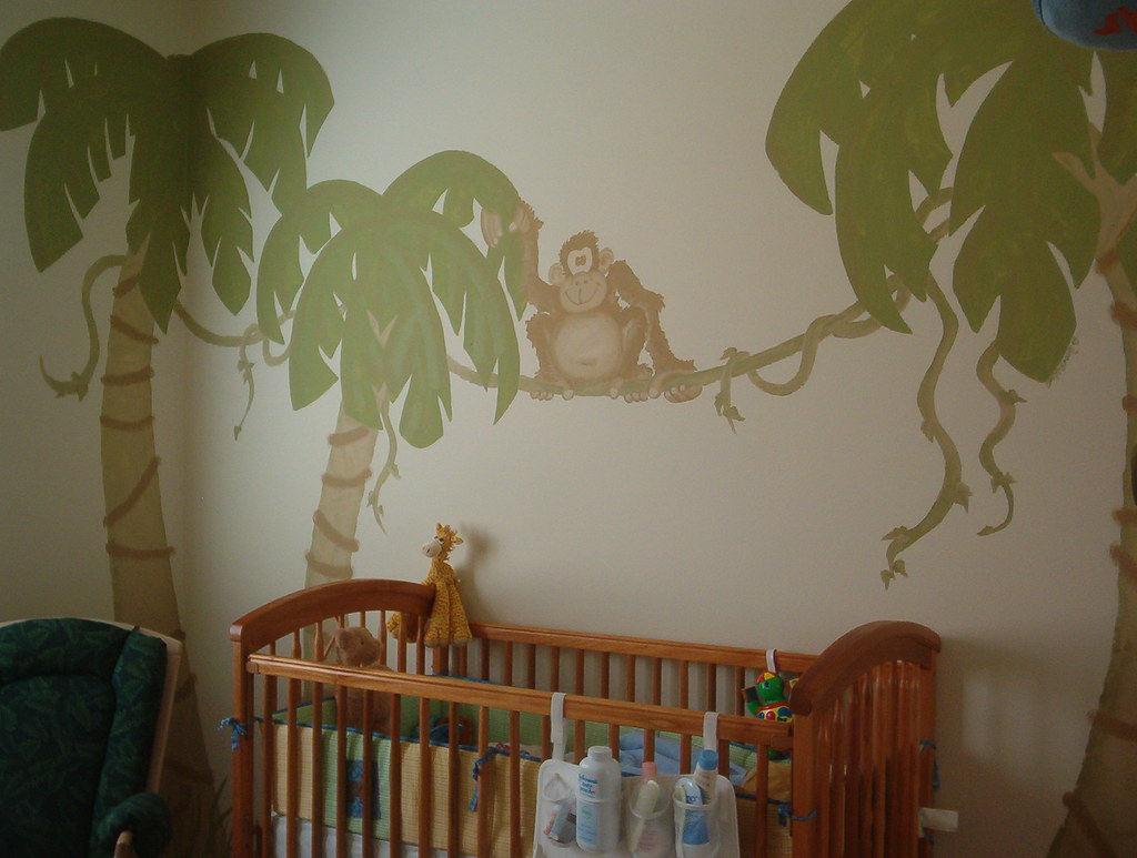 Baby Room Jungle Stickers