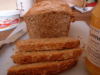 Wholemeal Flour And Beetroot Juice Fruit Cake Recipe