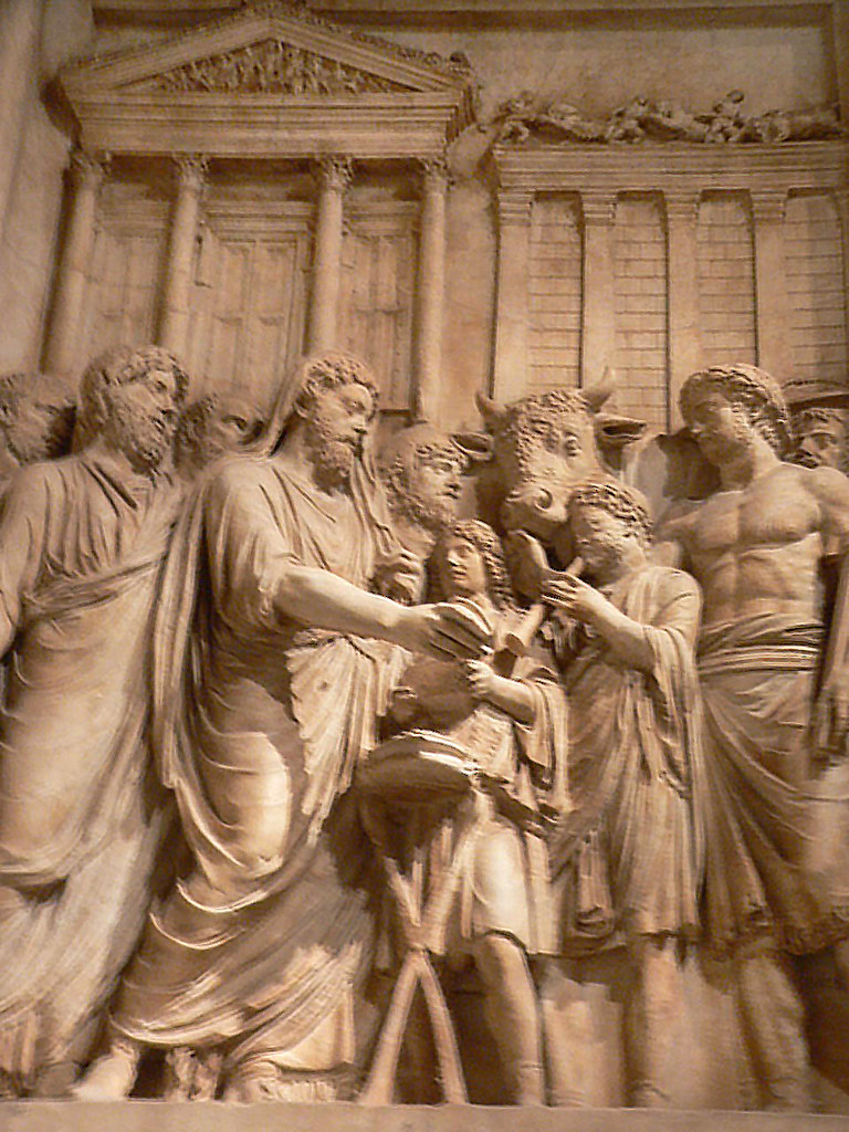 What Is Ce >> Relief from monument to Marcus Aurelius depicting the empe ...