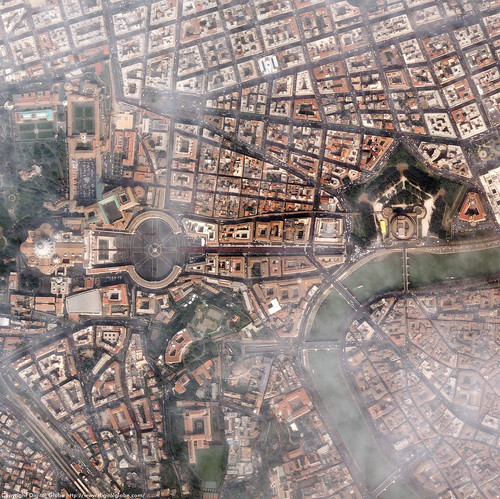 Aerial View Of Vatican City | by plemeljr