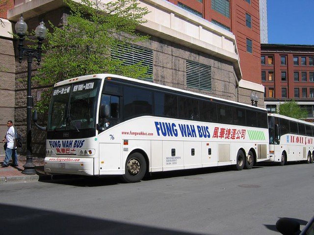 Bus Schedules between New York and Boston - Lucky Star